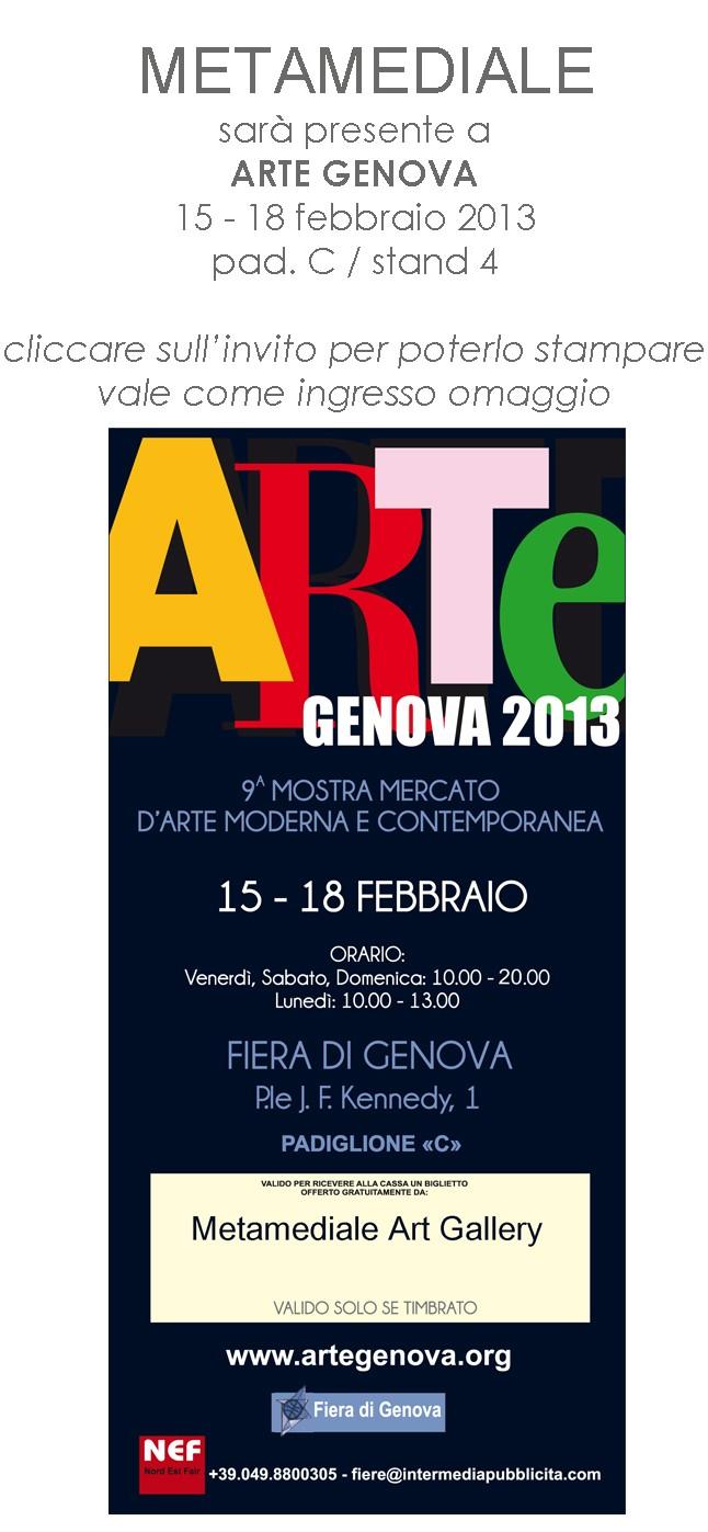 NUNZIANTE ad ARTEFIERA GENOVA 2013 13021310