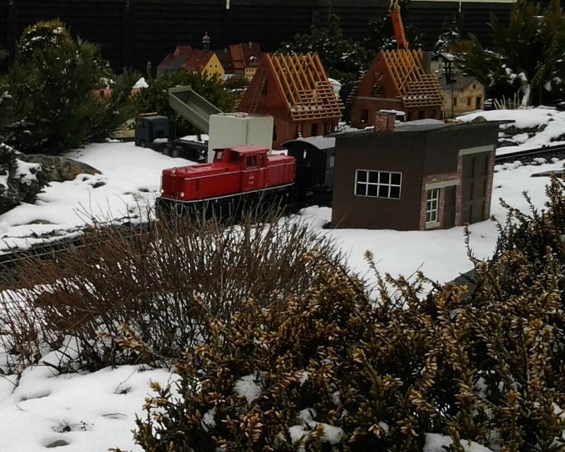 Egal welches Wetter - die Eisenbahnwelten im Kurort Rathen 20130410