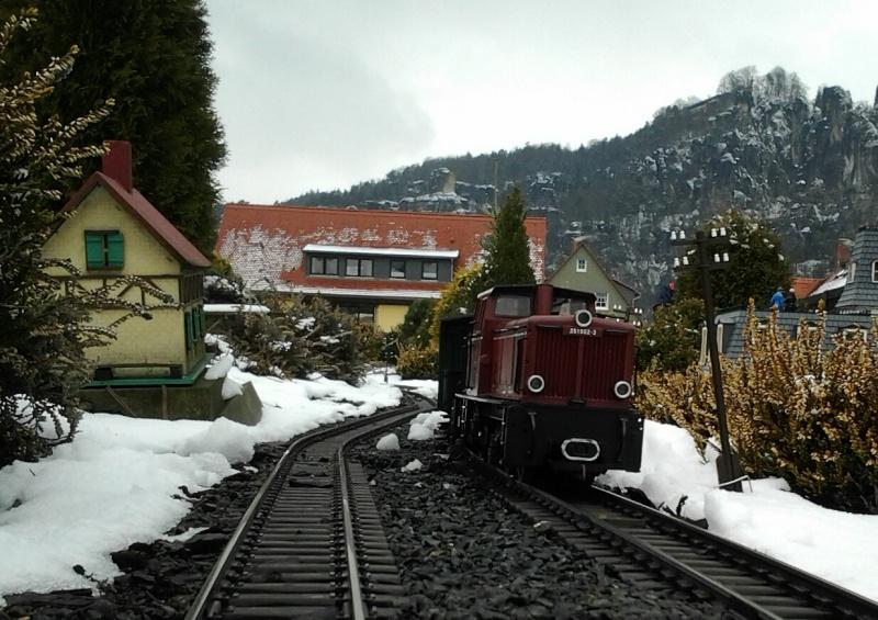 Egal welches Wetter - die Eisenbahnwelten im Kurort Rathen 20130414