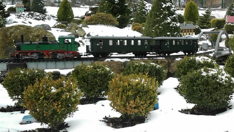 Egal welches Wetter - die Eisenbahnwelten im Kurort Rathen 20130415