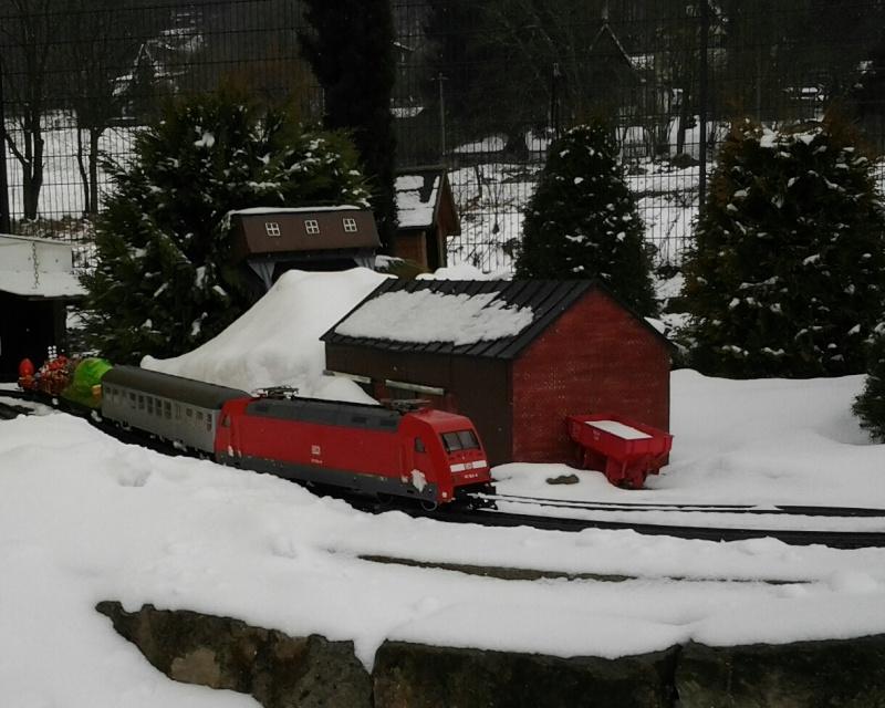 Egal welches Wetter - die Eisenbahnwelten im Kurort Rathen 20130416