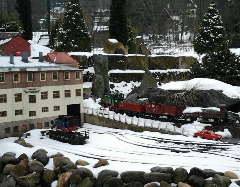 Egal welches Wetter - die Eisenbahnwelten im Kurort Rathen 20130417