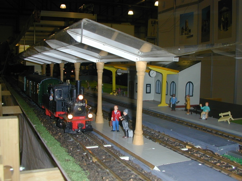 """Bilder der """" Erlebnis Modellbahn """" 2013 in Dresden Dscn0040"""