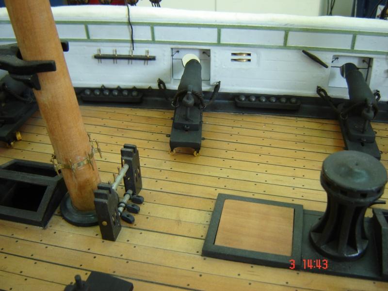 restauration une corvette aviso (1832-1840) - Page 2 Dsc03011