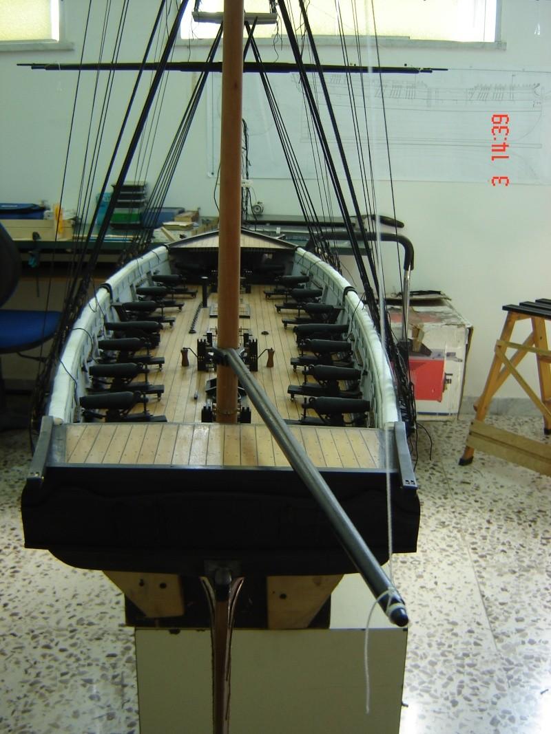 restauration une corvette aviso (1832-1840) - Page 2 Dsc03013
