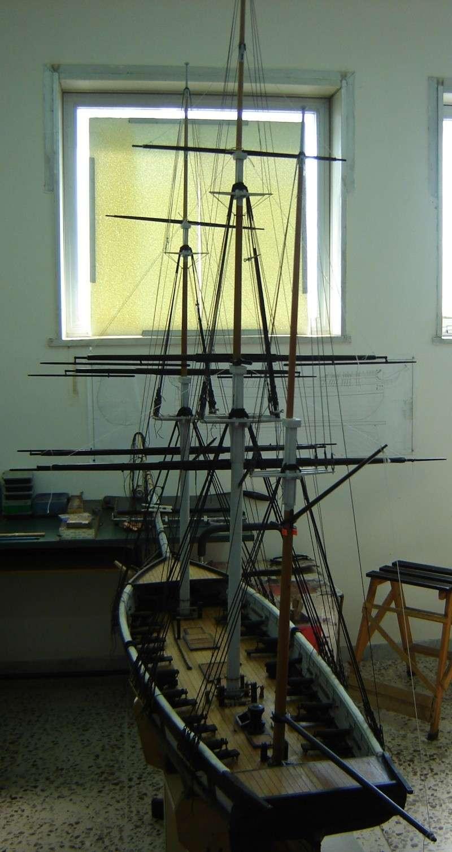 restauration une corvette aviso (1832-1840) - Page 2 Dsc03015