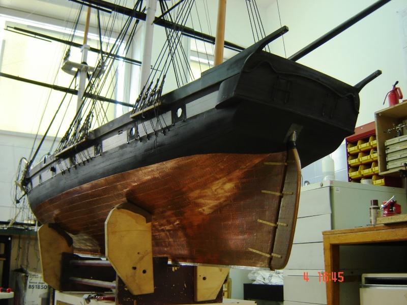 restauration une corvette aviso (1832-1840) - Page 2 Dsc03025