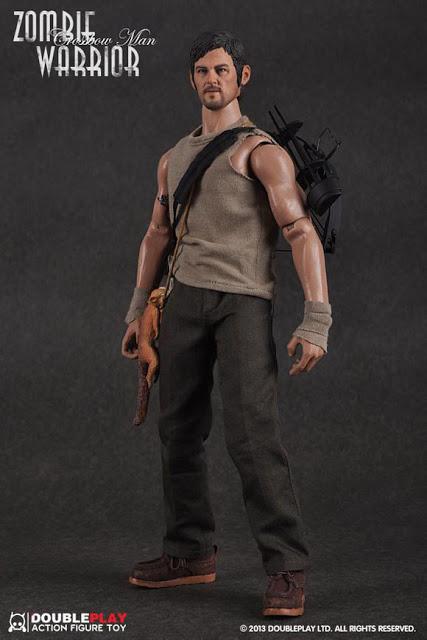 "THE WALKING DEAD "" Figurines OFFICIELLES ""  Zombie15"