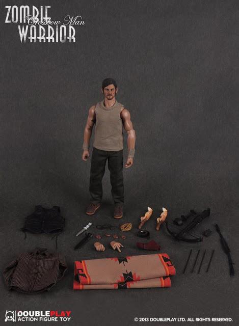 "THE WALKING DEAD "" Figurines OFFICIELLES ""  Zombie18"