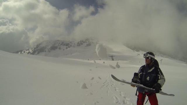 Cloturage de saison neige, la der à lélex 16103_10