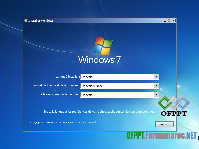 Comment installer Microsoft Windows 7 Image010