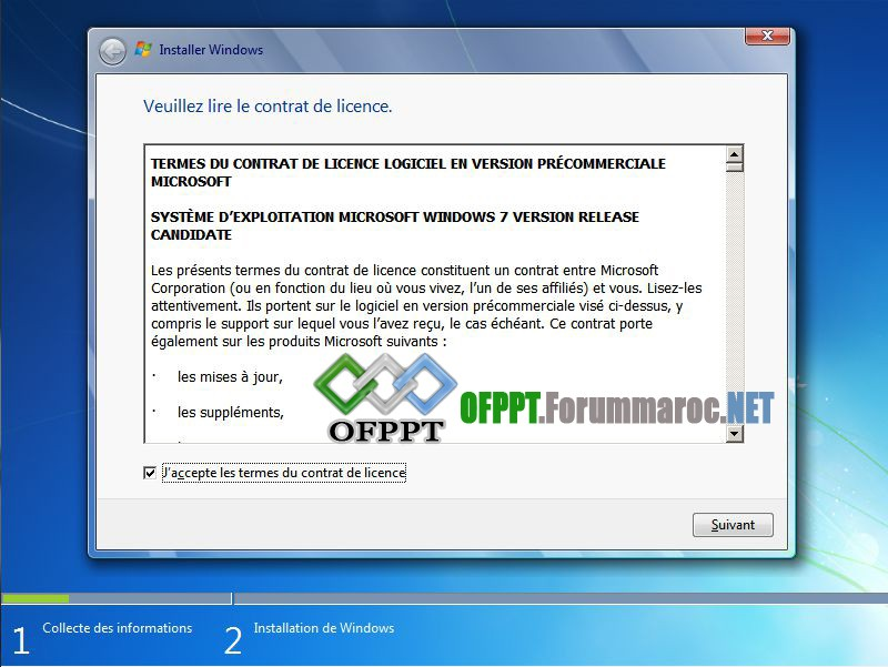 Comment installer Microsoft Windows 7 Image011