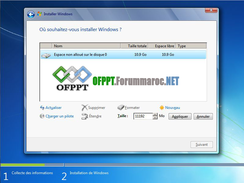 Comment installer Microsoft Windows 7 Image016