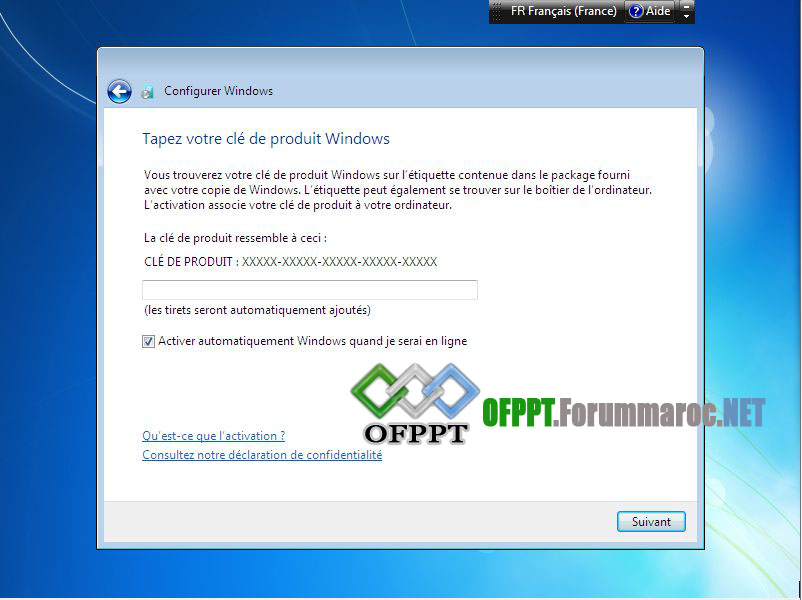 Comment installer Microsoft Windows 7 Image020