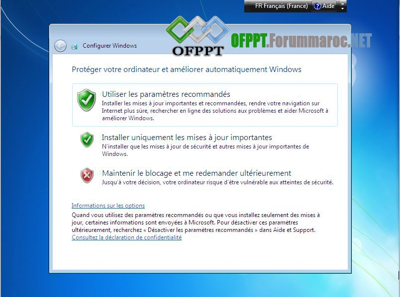 Comment installer Microsoft Windows 7 Image021
