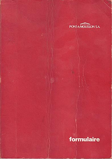 formulaire    PONT-A-MOUSSON S.A. Couv_p10