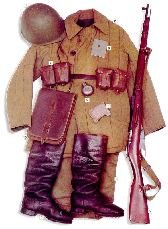L'équipement du soldat Soviétique  A213