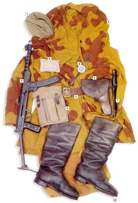 L'équipement du soldat Soviétique  A313