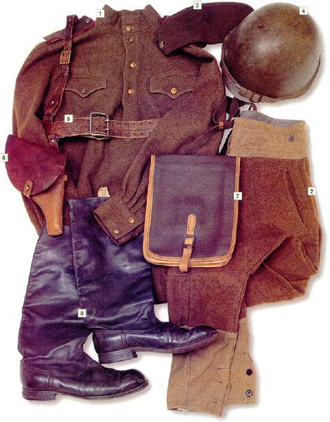 L'équipement du soldat Soviétique  A412