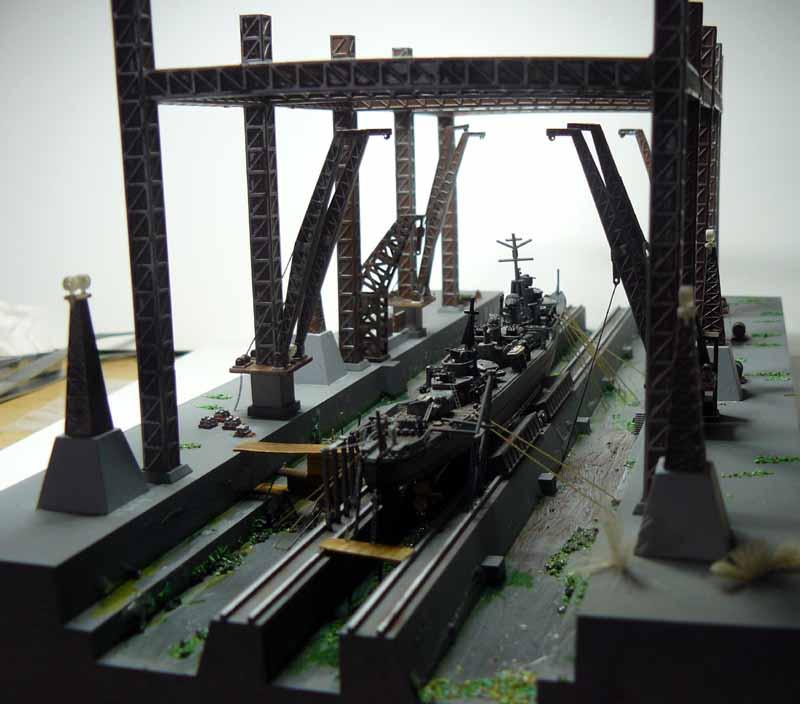 Pont roulant Fujimi 1/700 A_dryd10