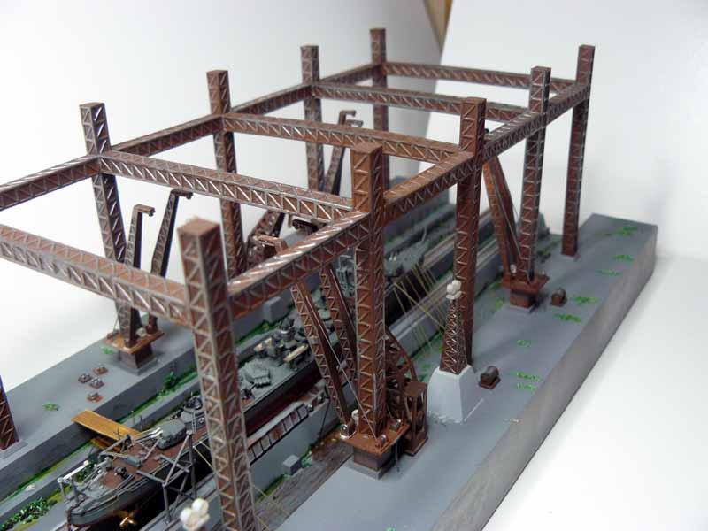 Pont roulant Fujimi 1/700 A_dryd11