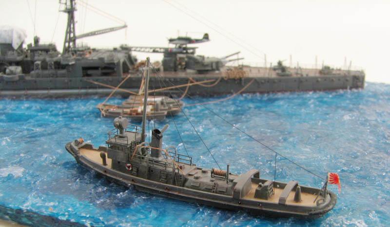 Tamiya 1/700 Tugger set Aoba-012