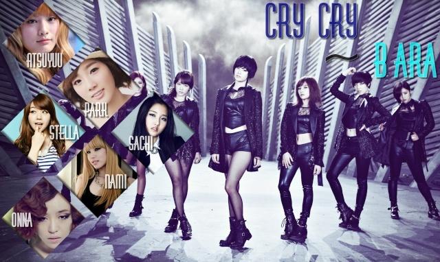 B-ara Premier single: Cry Cry Tara0210