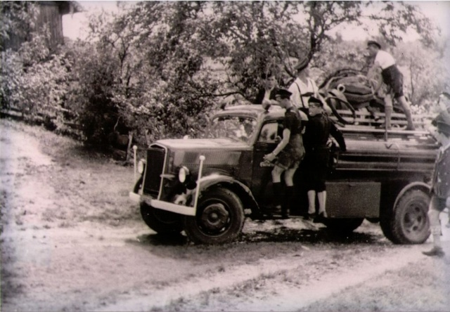 Opel Blitz Feuerwehrfahrzeug, M 1:24 Tlf_1911