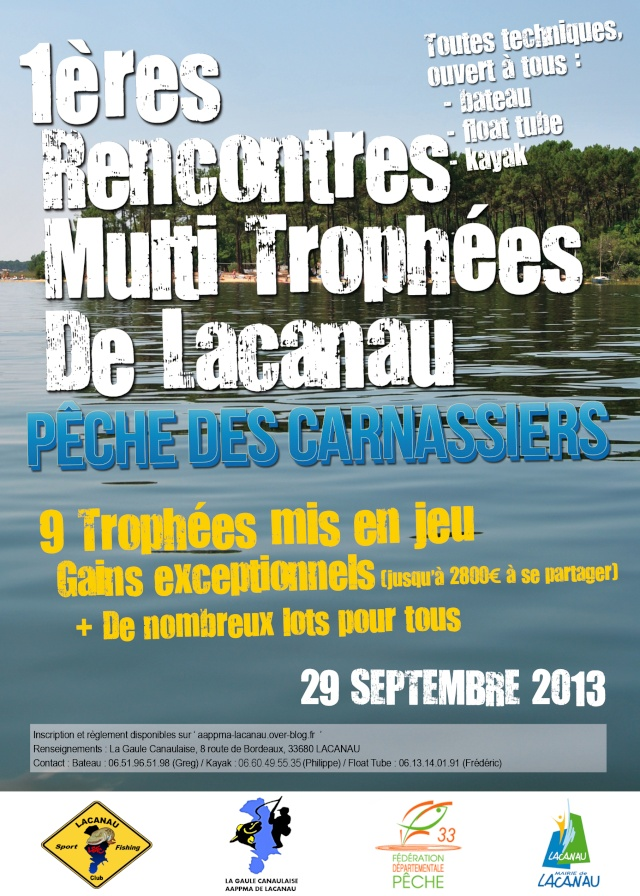 1ères Rencontres Multi-trophées de Lacanau Affich11
