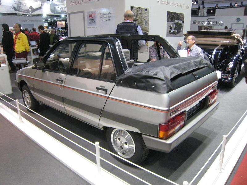 Rétromobile 2013 : les découvrables et cabriolets Citroen Ratrom19