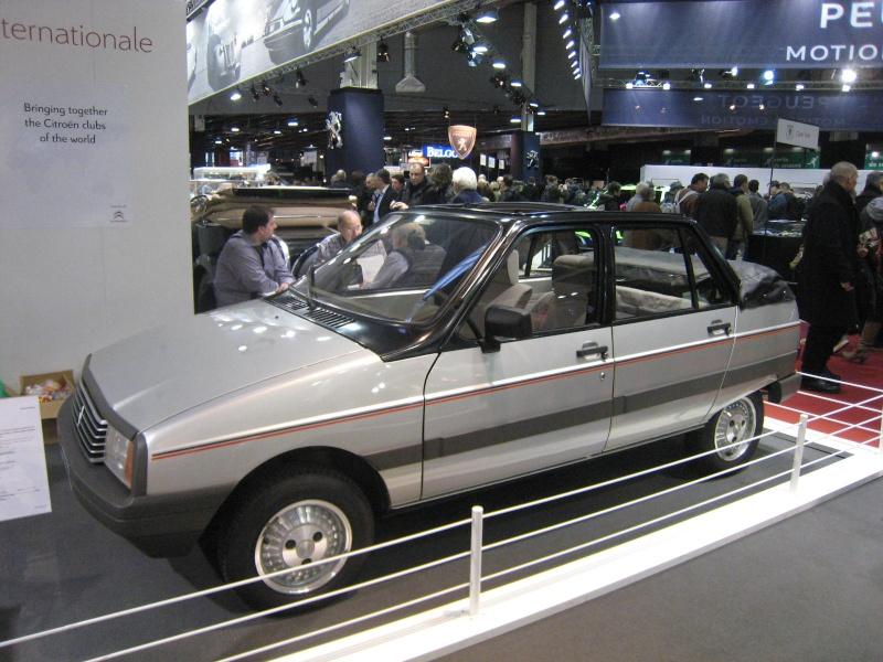 Rétromobile 2013 : les découvrables et cabriolets Citroen Ratrom20