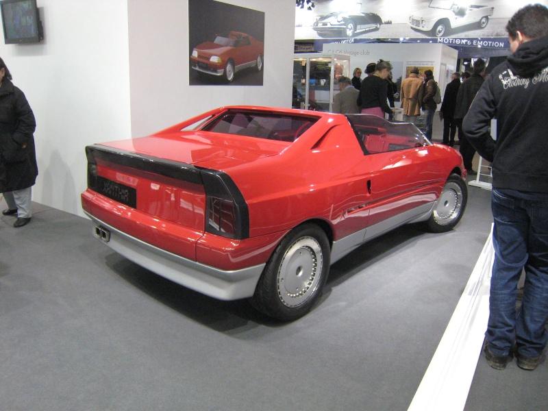 Rétromobile 2013 : les découvrables et cabriolets Citroen Ratrom23