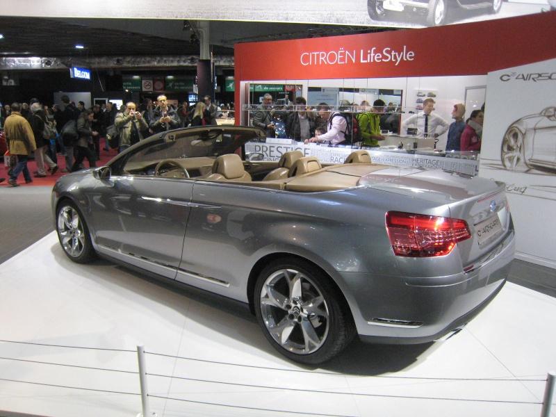 Rétromobile 2013 : les découvrables et cabriolets Citroen Ratrom24