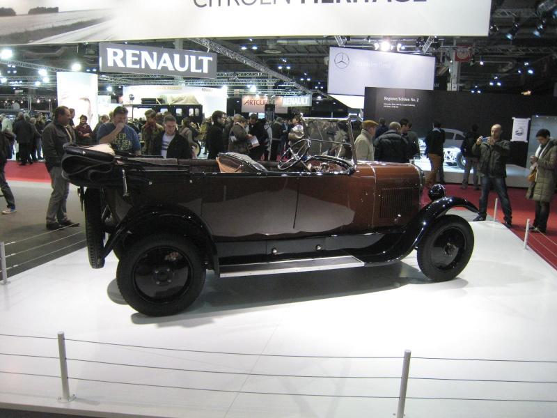 Rétromobile 2013 : les découvrables et cabriolets Citroen Ratrom28