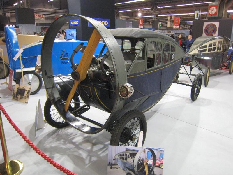 Rétromobile 2013 : les découvrables et cabriolets Citroen Ratrom39