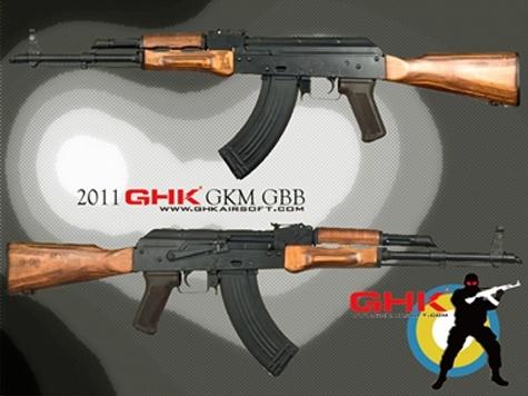 Un AKM GBBR Ghk-ak10