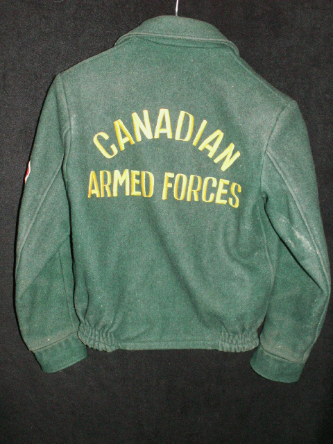 Canadian Armed Forces Melton Jacket 00611
