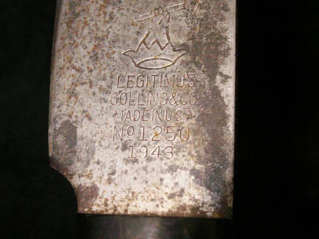 Legitimus Collins #1250 Machete 01910