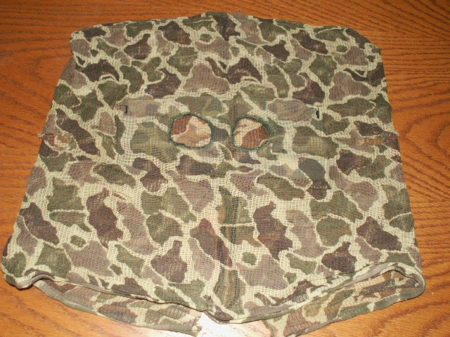 """Duck Hunter"" Marine Camo Mask 03911"