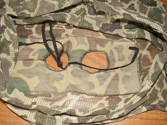 """Duck Hunter"" Marine Camo Mask 04310"