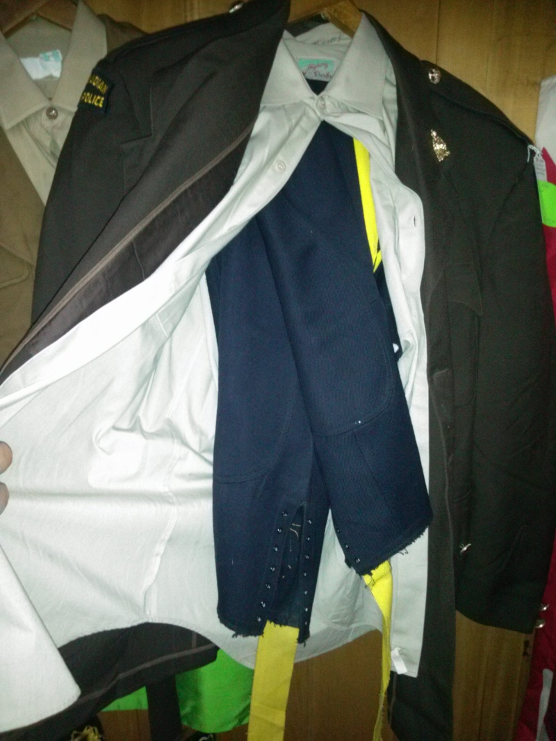 RCMP Jacket - BD Style Cut 35710