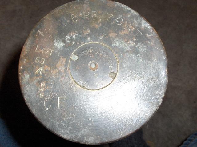 1942 6 Pounder Cartridge Casing Hpim0911