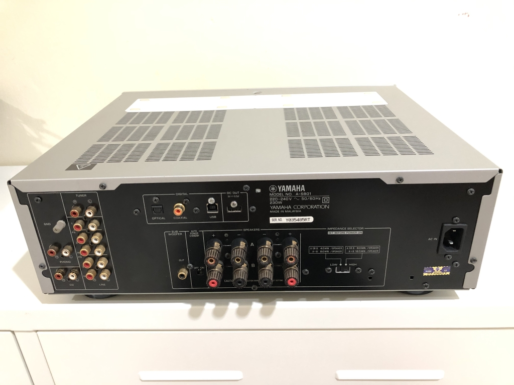 Yamaha A-S801 Integrated Amplifier (Sold) 610