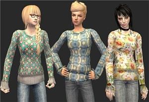 Повседневная одежда (топы, блузы, рубашки) Fr100