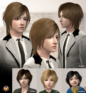 Мужские прически (короткие волосы, стрижки) - Страница 4 Fr128