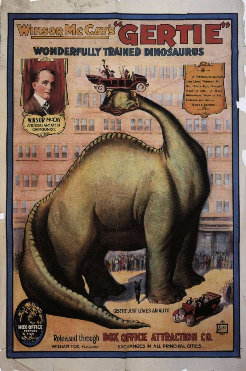 Dinosaurus Gerti (Gertie The Dinosaur) (1914) Gertie10