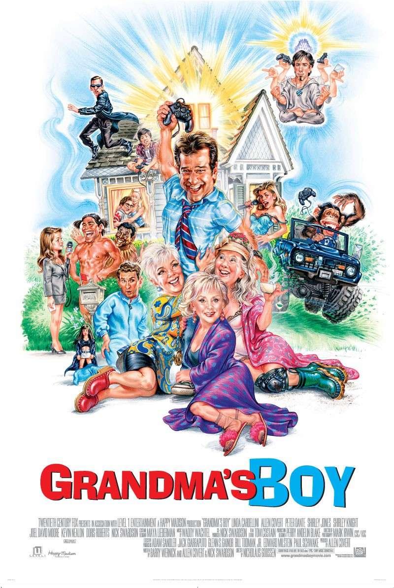 Bakin Dečko (Grandma's Boy) (2006) Grandm10