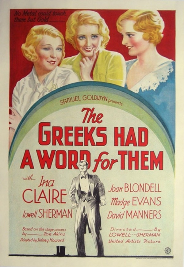 Three Broadway Girls (The Greeks Had a Word for Them) (1932)  Greeks10