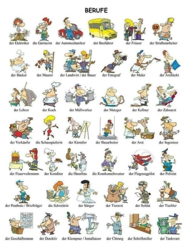 Karikaturen der Berufe 311a3010