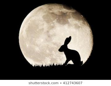 la leyenda de la Luna y del conejo 67448610